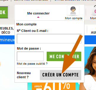 Analyse email marketing la redoute inscription la newsletter partie 1 - La redoute contact mail ...