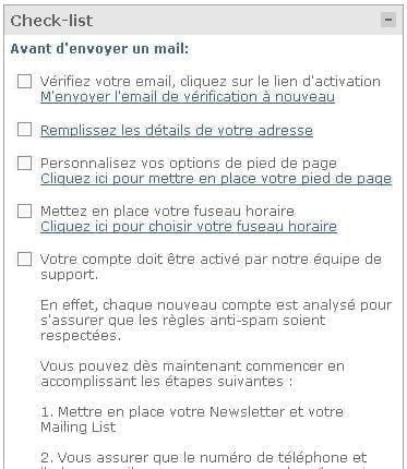 Checklist Graphicmail