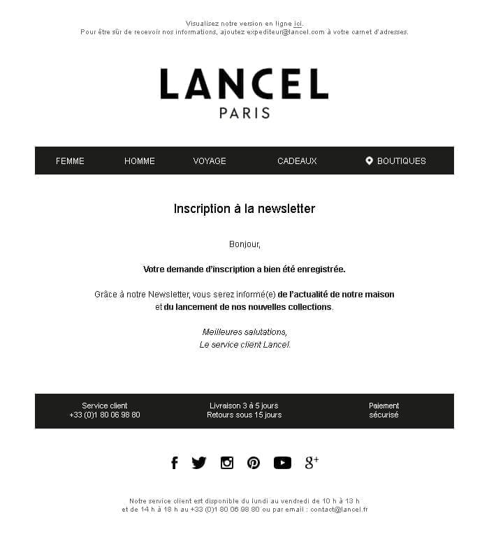 email-de-service