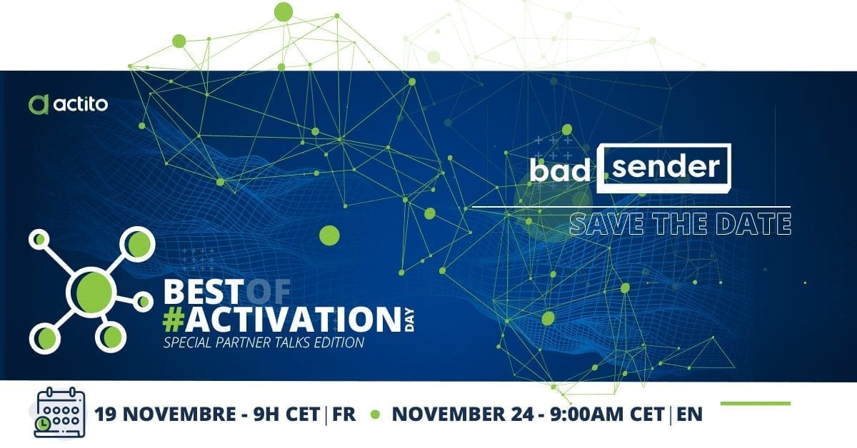 badsender actito best of activation day